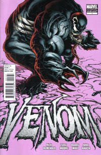 Cover Thumbnail for Venom (Marvel, 2011 series) #1 [Fourth Printing]