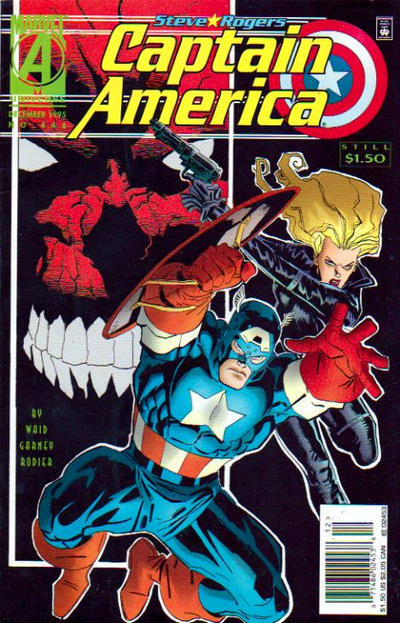 Cover for Captain America (Marvel, 1968 series) #446 [Newsstand Edition]