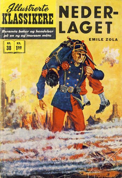 Cover for Illustrerte Klassikere [Classics Illustrated] (Illustrerte Klassikere / Williams Forlag, 1957 series) #38 - Nederlaget [1. opplag]