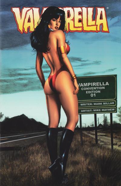 Cover for Vampirella (Harris Comics, 2001 series) #1 [J. Scott Campbell Cover]