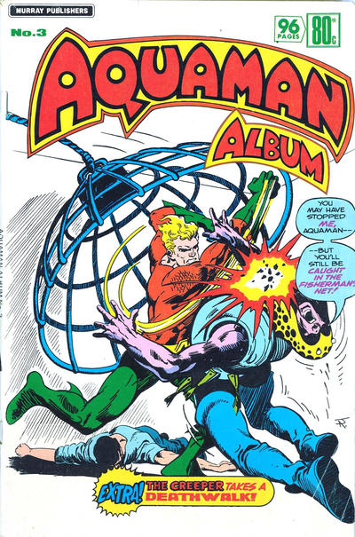 Cover for Aquaman Album (K. G. Murray, 1978 series) #3