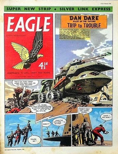 Cover for Eagle (Longacre Press, 1959 series) #v11#2