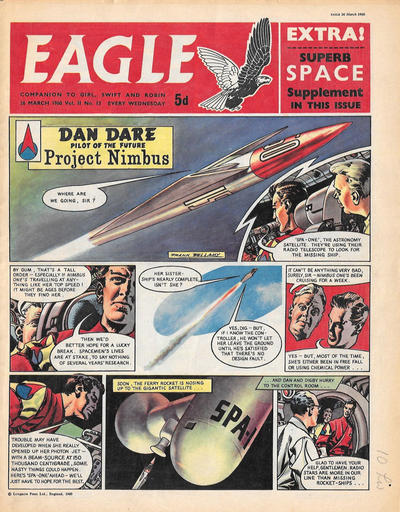 Cover for Eagle (Longacre Press, 1959 series) #v11#13