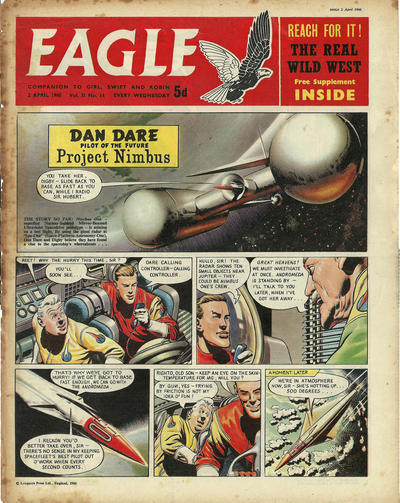 Cover for Eagle (Longacre Press, 1959 series) #v11#14