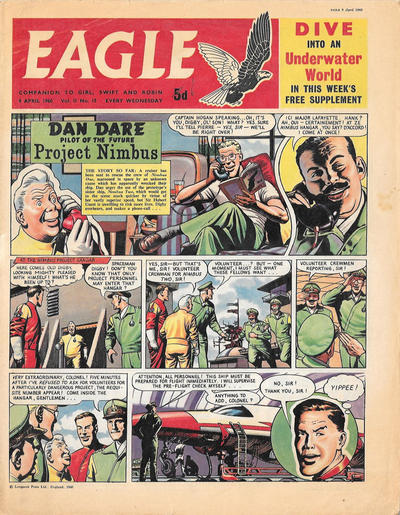 Cover for Eagle (Longacre Press, 1959 series) #v11#15