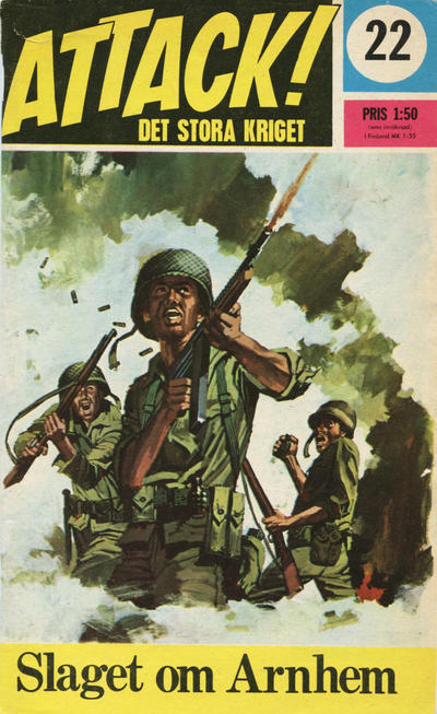 Cover for Attack (Semic, 1967 series) #22