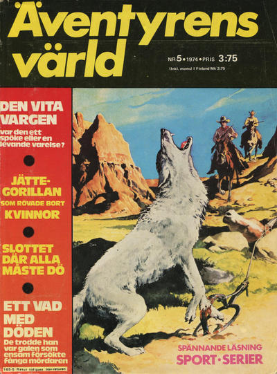 Cover for Äventyrens värld (Semic, 1973 series) #5/1974