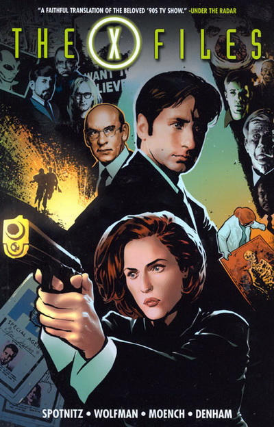 Cover for The X-Files (DC, 2009 series)
