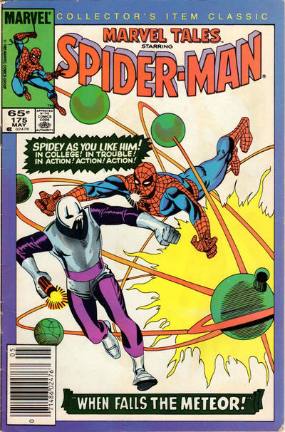 Cover for Marvel Tales (Marvel, 1966 series) #175 [Direct Edition]