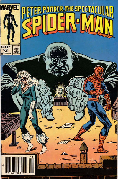 Cover for The Spectacular Spider-Man (Marvel, 1976 series) #98 [Newsstand Edition]