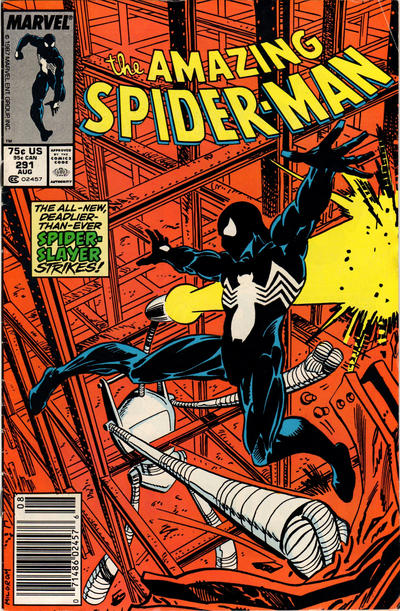 Cover for The Amazing Spider-Man (Marvel, 1963 series) #291 [Direct]