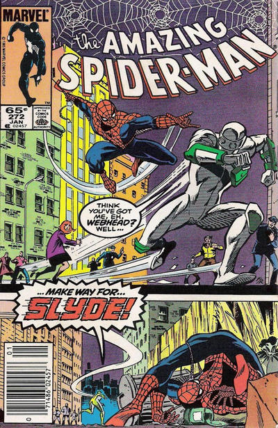 Cover for The Amazing Spider-Man (Marvel, 1963 series) #272 [Newsstand Edition]