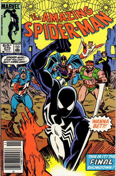 Cover for The Amazing Spider-Man (Marvel, 1963 series) #270 [Newsstand Edition]