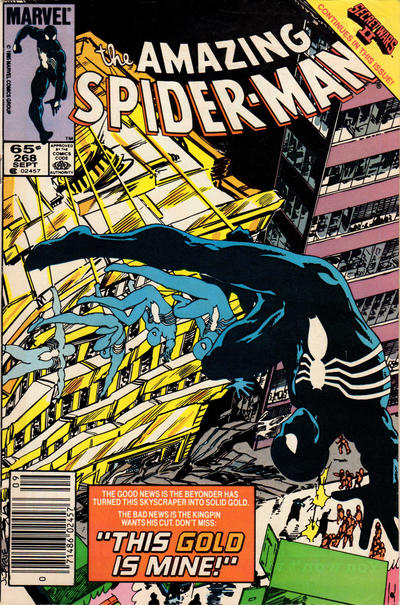 Cover for The Amazing Spider-Man (Marvel, 1963 series) #268 [Direct Edition]