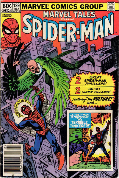 Cover for Marvel Tales (Marvel, 1966 series) #139 [Newsstand Edition]