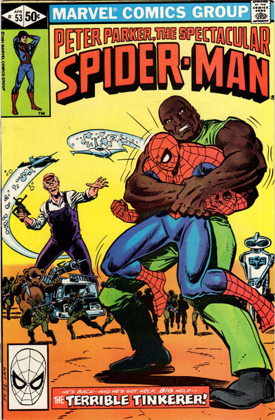 Cover for The Spectacular Spider-Man (Marvel, 1976 series) #53