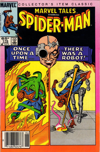 Cover for Marvel Tales (Marvel, 1966 series) #176 [Newsstand Edition]