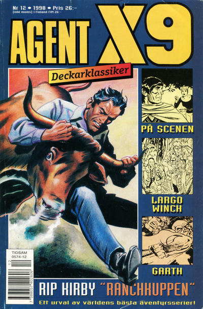 Cover for Agent X9 (Egmont, 1997 series) #12/1998