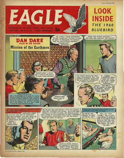 Cover for Eagle (Longacre Press, 1959 series) #v11#36