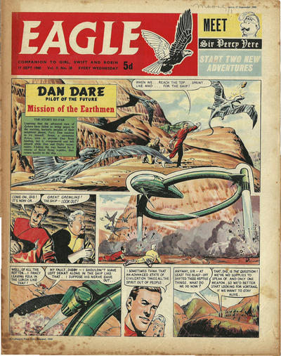 Cover for Eagle (Longacre Press, 1959 series) #v11#38