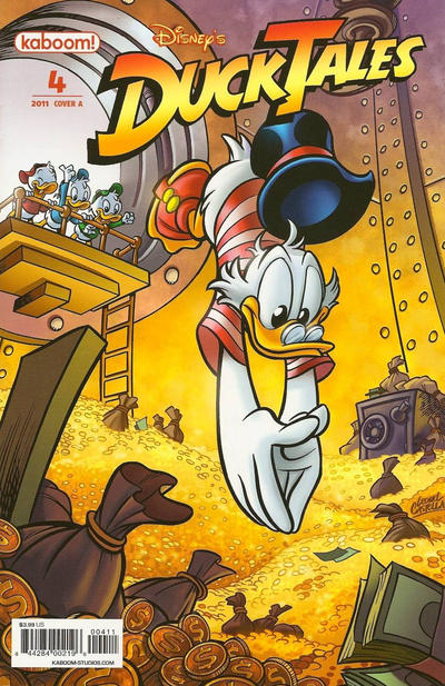Cover for DuckTales (Boom! Studios, 2011 series) #4