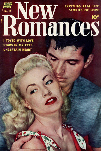 Cover for New Romances (Pines, 1951 series) #17