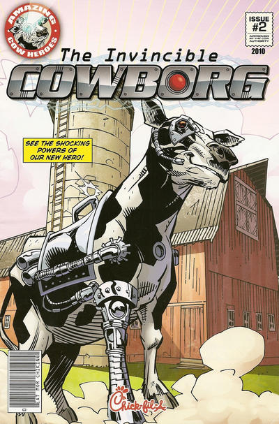 Cover for Amazing Cow Heroes (CFA Properties, Inc., 2010 series) #2