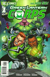 Cover for Green Lantern Corps (DC, 2011 series) #1