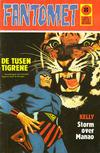 Cover for Fantomet (Nordisk Forlag, 1973 series) #8/1973