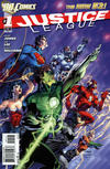 Cover for Justice League (DC, 2011 series) #1 [Third Printing]
