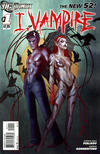 Cover for I, Vampire (DC, 2011 series) #1