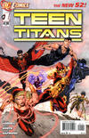 Cover for Teen Titans (DC, 2011 series) #1 [Newsstand]