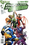 Cover for Green Lantern: New Guardians (DC, 2011 series) #1