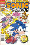 Cover for Sonic the Hedgehog (Archie, 1993 series) #5 [Newsstand Edition]