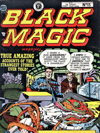 Cover Thumbnail for Black Magic Comics (Arnold Book Company, 1952 series) #13