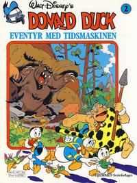Cover Thumbnail for Donald Duck Eventyr med tidsmaskinen (Hjemmet / Egmont, 1987 series) #2 [Reutsendelse bc-F 147 33]