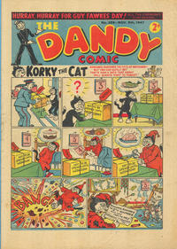 Cover Thumbnail for The Dandy Comic (D.C. Thomson, 1937 series) #356