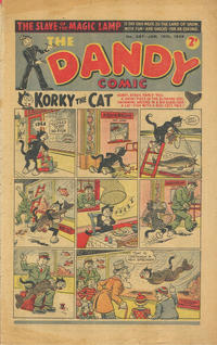Cover Thumbnail for The Dandy Comic (D.C. Thomson, 1937 series) #387
