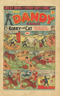 Cover Thumbnail for The Dandy Comic (D.C. Thomson, 1937 series) #426