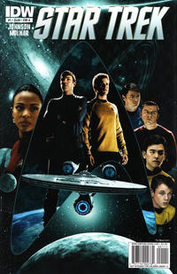 Cover Thumbnail for Star Trek (IDW, 2011 series) #1 [Cover A]