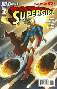 Cover Thumbnail for Supergirl (DC, 2011 series) #1 [Direct Sales]