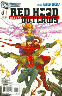 Cover Thumbnail for Red Hood and the Outlaws (DC, 2011 series) #1
