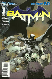 Cover Thumbnail for Batman (DC, 2011 series) #1 [Direct Sales]