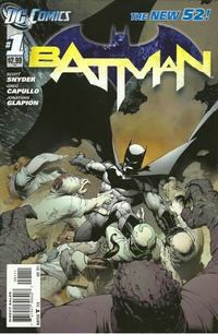 Cover Thumbnail for Batman (DC, 2011 series) #1