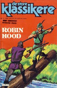 Cover Thumbnail for De Store klassikere (Semic, 1979 series) #4/1980