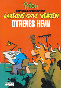 Cover Thumbnail for Larsons Gale Verden Dyrenes hevn (Bladkompaniet / Schibsted, 1990 series)