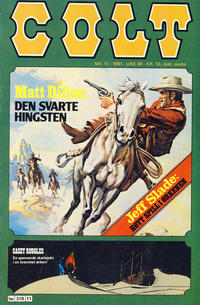 Cover Thumbnail for Colt (Semic, 1978 series) #11/1981