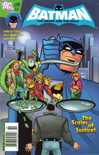 Cover Thumbnail for The All-New Batman: The Brave and the Bold (DC, 2011 series) #10