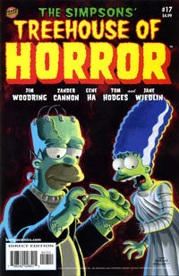 Cover Thumbnail for Treehouse of Horror (Bongo, 1995 series) #17