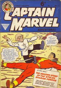 Cover Thumbnail for Captain Marvel [Captain Marvel Adventures] (L. Miller & Son, 1953 series) #v1#1